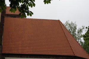 Dachówka mnich-mniszka SanMarco, kolor naturalna czerwień, Bydgoszcz