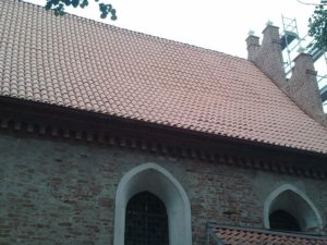 Dachówka mnich-mniszka SanMarco, kolor naturalna czerwień, Okonin