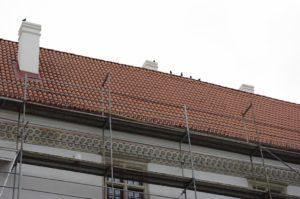 Dachówka mnich-mniszka SanMarco, kolor naturalna czerwień, Szydłowiec