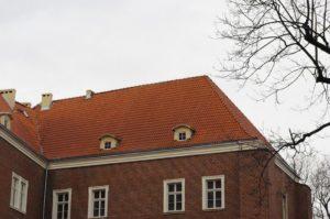 Dachówka mnich-mniszka SanMarco, kolor naturalna czerwień, Legnica