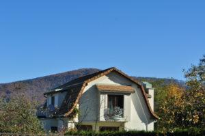 Dachówka ceramiczna płaska zakładkowal Terreal Giverny, kolor Champagne Sandfaced, Ustroń