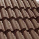 Dachówka Portugalka Tognana kolor Fully Brown