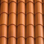 Dachówka mnich-mniszka SanMarco kolor Rosso Rigato - naturalna czerwień prążkowane