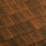 Dachówka holenderka Flamande kolor Rustic Brown | dachyrustykalne.pl