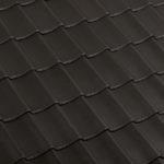 Dachówka holenderka Flamande kolor Graphite Black | dachyrustykalne.pl
