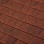 Dachówka płaska Giverny Terreal kolor Old Burgundy